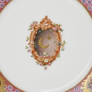 Three Sèvres plates of Islamic interest