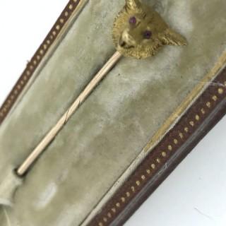 Bear Head Stick Pin
