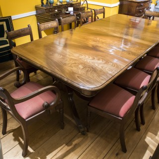 Regency Two Pedestal Dining Table