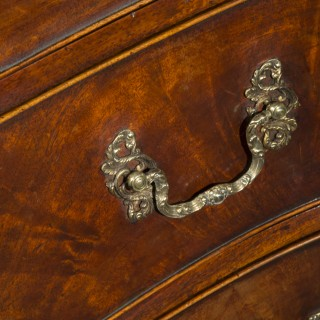 George III Serpentine Kneehole Desk or Chest of Drawers
