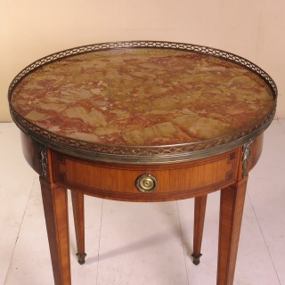 Late 19th Century French Bouillotte Table