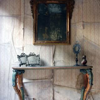 A Mid-18thC Italian Giltwood Wall Mirror c.1760
