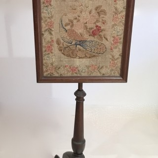 Early Victorian  Fire Screen