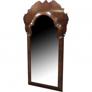 William and Mary Walnut Mirror