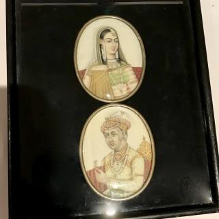 Akbar and Mariam-uz-Zamani