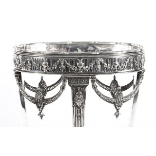 Antique Victorian Silver-plate Centrepiece by Horace Woodward and Co. 1876