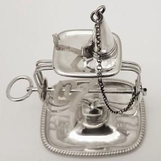 Georgian Silver Wax Jack