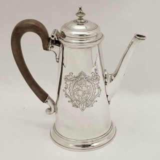 George II Silver Coffee Pot