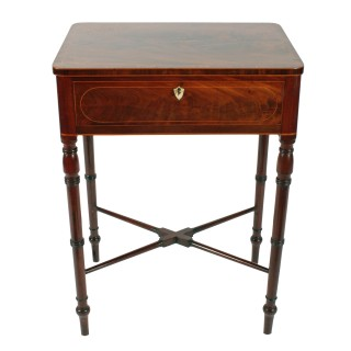 Fine Regency Inlaid Table
