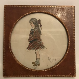 Watercolour of a Girl