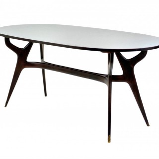 A SCULPTURAL DINING TABLE BY ICO PARISI