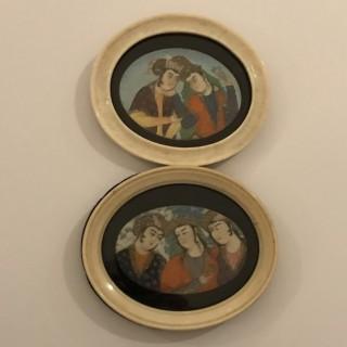 Burmese Miniature Paintings
