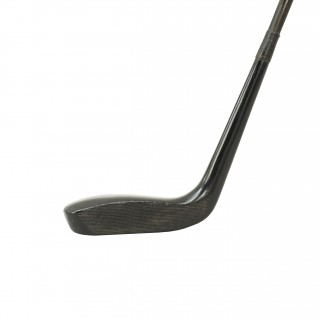 Vintage Golf Club, Long Nose Putter, Black Composit