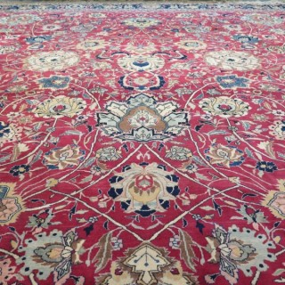 Very large Tabriz carpet