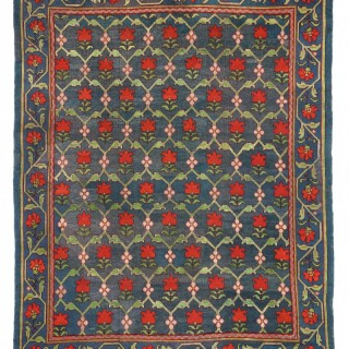 Antique Arts & Craft Donegal carpet