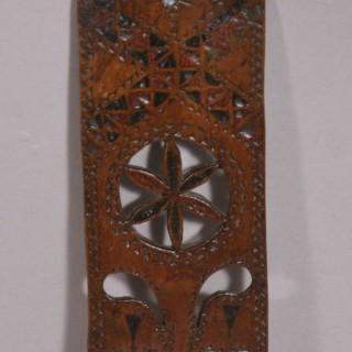 Antique Treen Early 19th Century Fruitwood Love Spoon