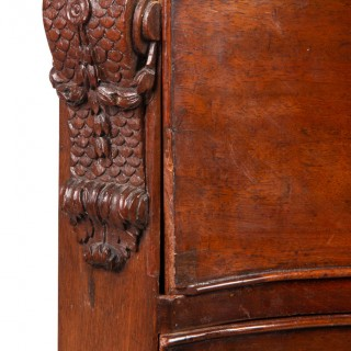 Chippendale Mahogany Serpentine Fronted Chest, circa 1780