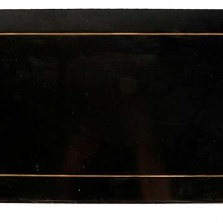 Pair of 19th Century French Ebonised Pier / Side Cabinets