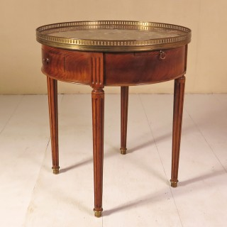 Late 19th Century French Bouillotte Lamp Table