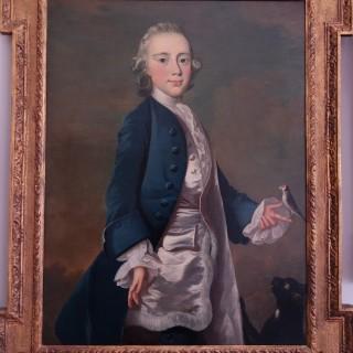 Attributed to Frans Van Der Mijn (1719-1783). Portrait of Master Wanley