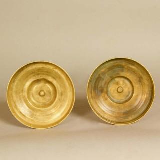 Pair of Empire Ormolu Candlesticks, circa 1820
