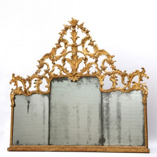 18th Century Sicilian Overmantle