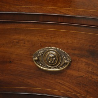 Georgian Mahogany Serpentine Chest of Drawers