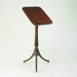 Fine Regency period mahogany Lectern Table
