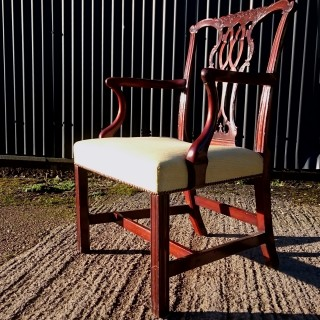 Antique Library Chair /  Desk Chair