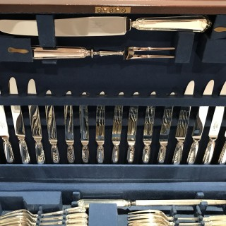 Silver Canteen of Cutlery for Eight