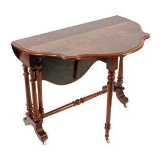 Victorian Walnut Sutherland Table