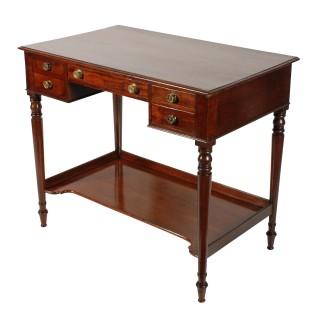 Georgian Kneehole Dressing Table