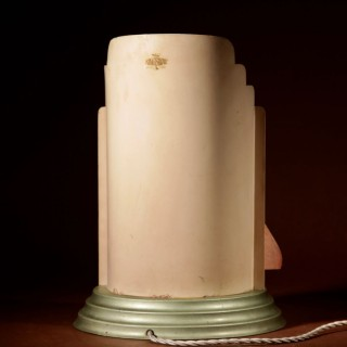 A very rare and decorative original Art Deco table lamp.