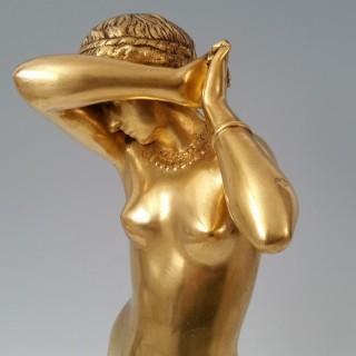 Phryne by Alexandre Falguiere (1831-1900)