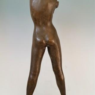 Standing Nude by Robert Cook (1921-2017)