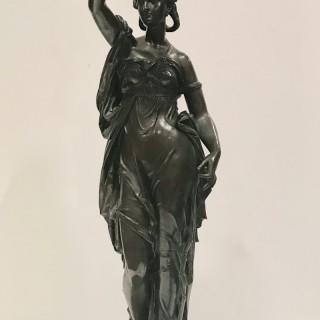 Bronze Diana By Eugene Laurent