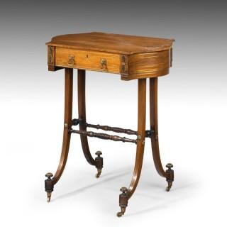 An Elegant Regency Period Work Table