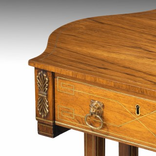 An Elegant Regency Period Work Table