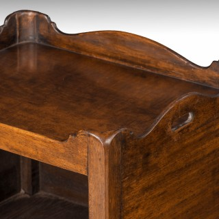 A Mahogany Framed George III Period Night Table