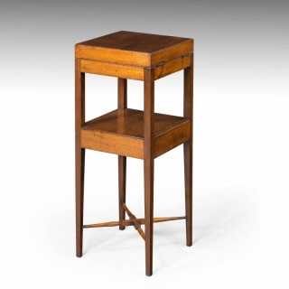 A George III Period Washstand Table