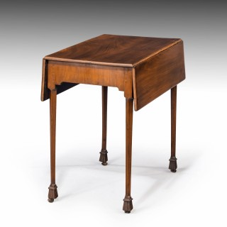 A Chippendale Period Mahogany Pembroke Table