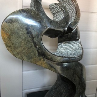 Stone Abstract Sculpture, Contemporary
