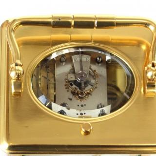 Striking Repeating Carriage Clock