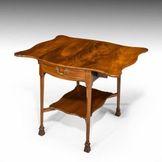 A Most Attractive Late 19th Century Mahogany Pembroke Table