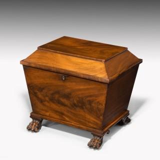 A Beautifully Figured Regency Period Wine Cooler