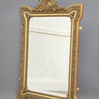 Art Nouveau Giltwood Wall Mirror