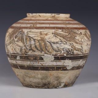 A Western Han Painted Jar