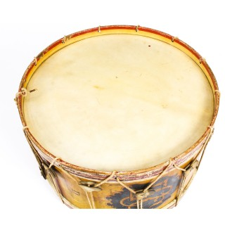 Antique Victorian Large Military Band Drum by Hawkes & Son Ca 1892 19th C