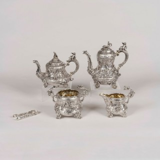 An Exhibition Tea & Coffee Service by Joseph Angell