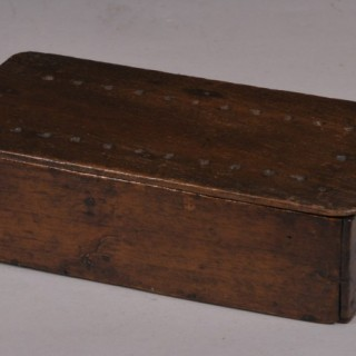 Antique Treen 19th Century Mahogany Whist or Card Box